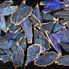 Cobalt on Kyanite Blades