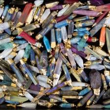 Quartz Points Metal Vaporization Finish