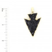 Druzy Shape - Arrow Head - 7104