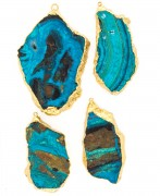 Chrysocolla Electro-formed