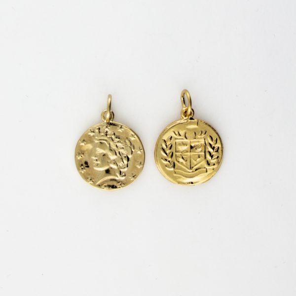 KM-1005 Coin Replica pendant