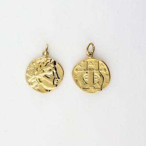 KM-1007 Coin Replica pendant