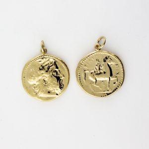 KM-1011 Coin Replica pendant