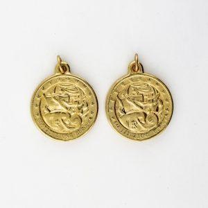 KM-1012 Coin Replica pendant