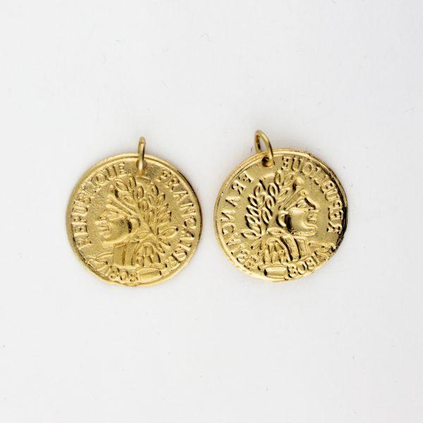 KM-1013 Coin Replica pendant