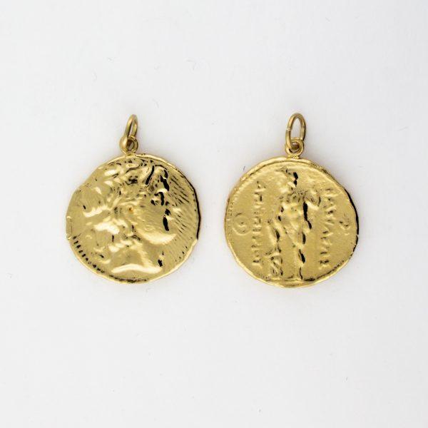 KM-1014 Coin Replica pendant