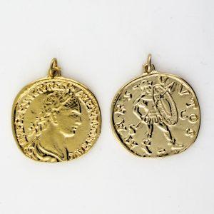 KM-1016 Coin Replica pendant