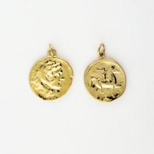 KM-204 Coin Replica pendant