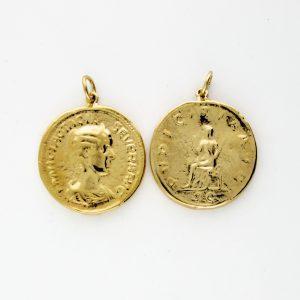 KM-981 Coin Replica pendant