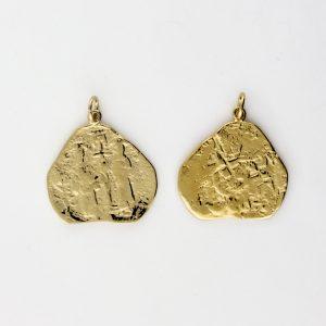KM-985 Coin Replica pendant