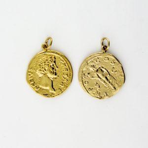 KM-986 Coin Replica pendant
