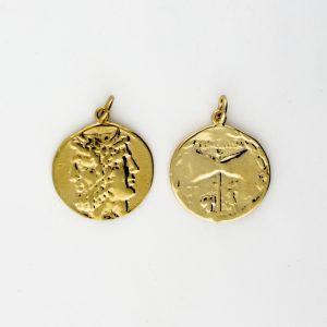 KM-987 Coin Replica pendant