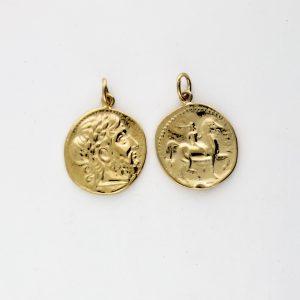 KM-988 Coin Replica pendant