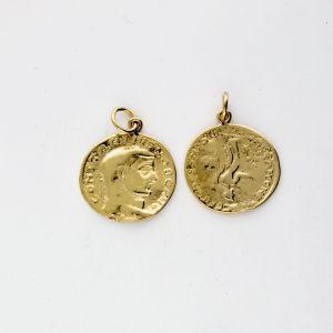 KM-992 Coin Replica pendant