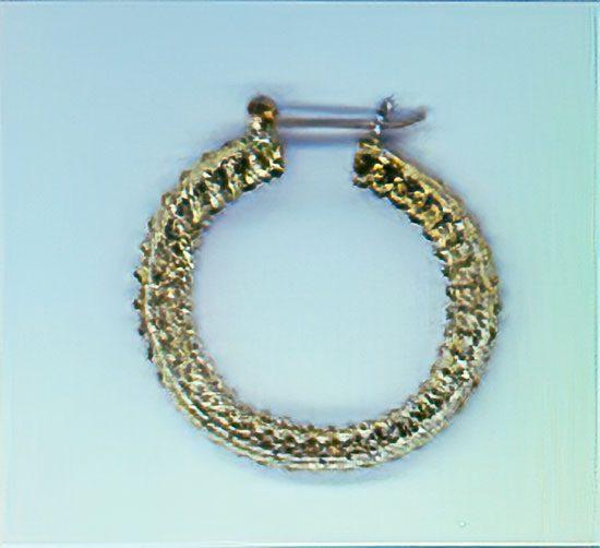 EF-096 Filigree Earrings