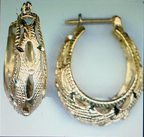 EF-94 Filigree Earrings