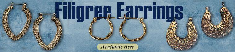Filigree Earrings Banner
