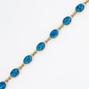 Gilson Style Blue Opal 1X1