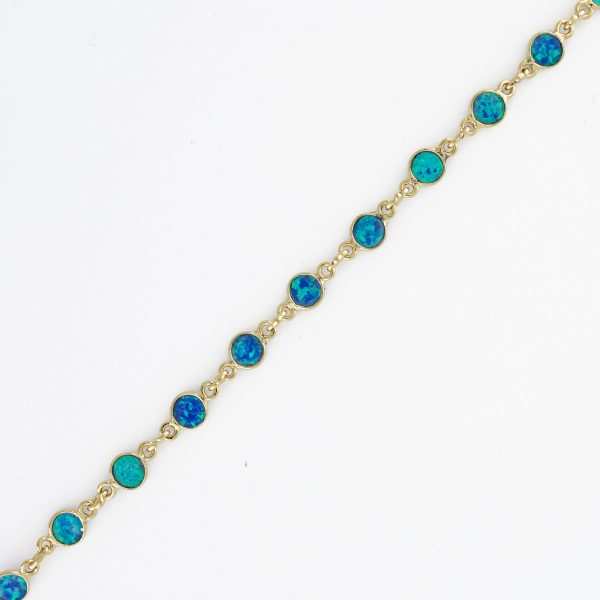 Round Blue Lab Opal 3mm 1X1