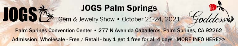 JOGS Palm Springs Gem and Jewelry Show